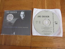 JOE COCKER What Becomes Of The Broken Hearted 1998 EUROPEAN Promo CD single