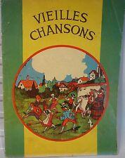 Vieilles Chansons, illustré par H Iselin 1937,