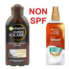 GARNIER Ambre Solair NO SPF BRONZANTE INTENSE / NATURAL BRONZER Self Tan Dry Oil