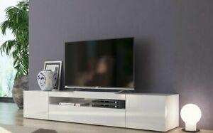Frozen Mobile Porta Tv 3 Ante Living Bianco Laccato Lucido design moderno