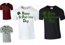 Trébol CAMISETA DIVERTIDA Happy Leprechaun San Patricio Día Irlandés (St. Pats
