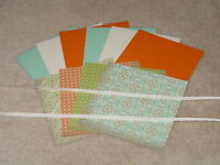 STAMPIN UP EVERYDAY ENCHANTMENT CARD KIT RIBBON *6* NEW RETIRED SALE-A-BRATION