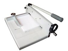 """New 17"""" Manual Paper Cutter Trimmer Heavy Duty cuts upto 300shts Thick Stack"""