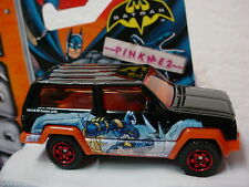 2013 Matchbox BATMAN JEEP CHEROKEE suv☆Black☆New loose mbx