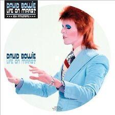 David Bowie Picture Disc 45 RPM Speed Vinyl Records
