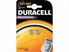 DURACELL 2 button batteries 357 - 303 , SR44SW DURACELL, 1, 55V