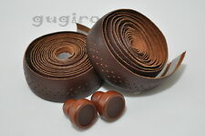 GYES Seamless Drop Handlebar Holes Leather Bar Tape Wrap Wooden plug (DB