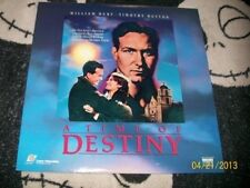 A Time of Destiny Laserdisc LD William Hurt Free Ship $30 Orders