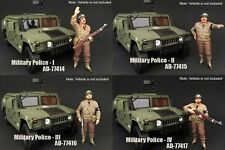 AMERICAN DIORAMA MILITARY POLICE SET OF 4 1/18 SCALE FIGURES BY AMERICAN DIORAMA