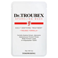 [TOSOWOONG] Dr. Troubex Sparkling Mask Pack (10pcs in a box)