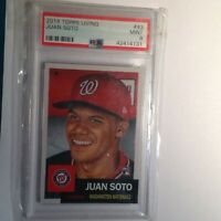 2018 Topps Living Set Juan Soto Rc PSA 9 Mint -Nationals