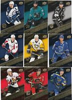 2017-18 UPPER DECK TIM HORTONS STAT MAKERS lot of 9 DIFFERENTS CARDS LOT 61    a