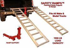 ATV RAMPS & RAMP SUPPORT!  ANTI-KICK OUT DESIGN!  FREE SHIPPING!!!