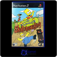 The Simpson's Skateboarding (PS2)  Very Good Condition - Fast Post - Action