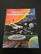 STAR FLEET BATTLES Captain's Log #11 Origins Of The General War Magazine