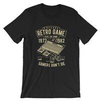 Retro Game T-Shirt. Video Gamer 100% Cotton Premium Tee NEW