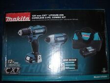 Makita CT226 12V Max Lithium-Ion Cordless Combo Kit Drill Impact Driver NEW