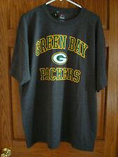 Majestic NFL Team Apparel GREEN BAY PACKERS  Mens Shirt GRAY Mens XL   XLarge
