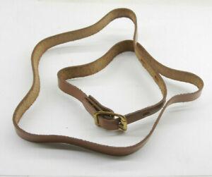 "Leather Case Bag Strap Handle Belt ~33"" Long - C924"