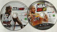 NBA 2K7 & 2K10 Basketball 2007 2010 / Disc Bundle / PS3 Playstation 3
