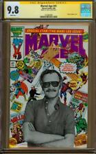 Marvel Age #41 CGC 9.8 SS Signed by Stan Lee in Gold Marker - Perfect Placement