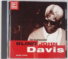 BLIND JOHN DAVIS: The Incomparable Rare OOP Blues CD Super Rare