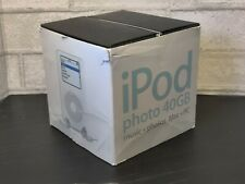 """""""Classic"""" iPod Photo 40gb with Box and Accessories! (Untested-As Is)"""