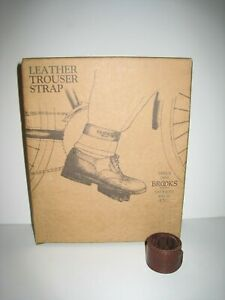 Brooks England Leather Trouser Strap Brown
