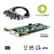 MATROX Mojito MAX Win/Mac PCIe-Karte schneller Encoder H.264 MP4 SDI HDMI Comp.