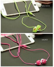 Headset music mp3 Earphone Mixed color cute 3.5mm hellokitty in-ear Headphone