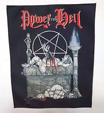 POWER FROM HELL     SUBLIMATED BACK PATCH