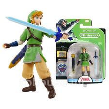 LINK figure THE LEGEND OF ZELDA world of nintendo SKYWARD SWORD pacific JAKKS 16