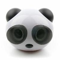 Portable Panda Mini USB Speakers For NEW Toshiba Chromebook 2