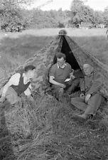 Sedan - 1940-Champagne-Ardenne - 34. esimo fanteria-Sanitäts compagnia-tenda - 85