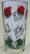 No Name (3 Maple Leaves) Peanut Butter Glass Glasses Drinking Kitchen Mauzy 2-1