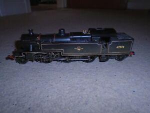 Weathered British Railways 42322 Locomotive for Hornby OO Gauge