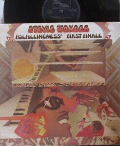 STEVIE WONDER - Fulfillingness' First Finale ~ GATEFOLD VINYL LP