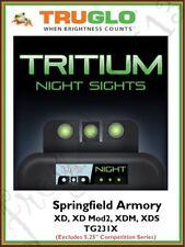 TRUGLO Springfield Armory XD/XDS/XDM Tritium Night Sight Set - TG231X