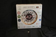 """NEW IN BOX - Neonetis Neon Wall Clock """"Willys Sales-Service"""""""