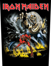 IRON MAIDEN number of the beast 2011 - GIANT BACK PATCH - 36 x 29 cms  666