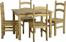 Pine Up to 4 Table & Chair Sets with Flat Pack