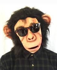 Chimpancé Máscara Bruno Mars Perezoso Mono Mono Disfraz Elaborado Vestido de la canción