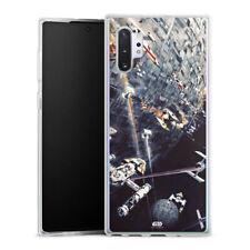 Samsung Galaxy Note 10 Plus Silikon Hülle Case Handyhülle  - Death Star
