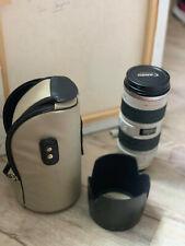 Canon EF - Objectif - 70-200mm - f/2.8L IS USM + Paresoleil ET86 + Etui LZ1324