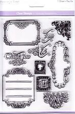 TO & FROM - (Labels, Postage Stamps & Corners) - Clear Stamp Set