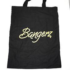 Miley Cyrus Bangerz 2014 Tour Black Tote Bag Merchandise