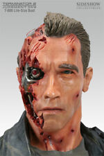 Terminator T800 T2 1/1 Scale Arnold Life Size Bust Sideshow Collectibles