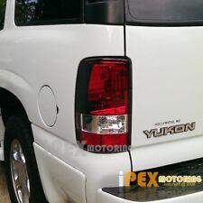 PREMIUM 2000-2006 Chevy Suburban Tahoe GMC Yukon XL Red Clear Tail Lights Lamps