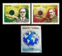 Olympic Games Barcelona 1992 Brazil Mic 2452-3-64 Yvert 2053-4-60 RHM 1773-74-86