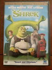 New listing Shrek 2001 Two-Disc Special Edition Dvd's